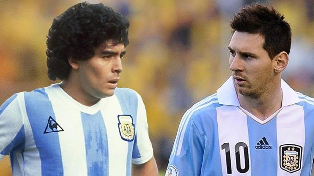 Maradona, el mejor de todos los tiempos: Messi segundo, ¿y Cristiano Ronaldo?