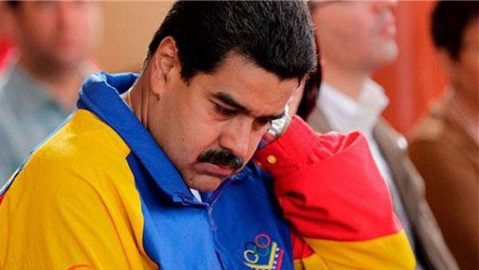 Militares defienden a Maduro tras sanción de EU