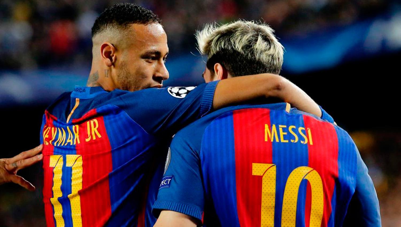 Neymar le respondió a Lionel Messi: