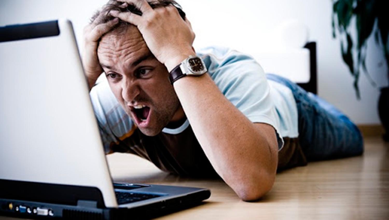 El servicio de Internet presenta graves fallas en todo el país