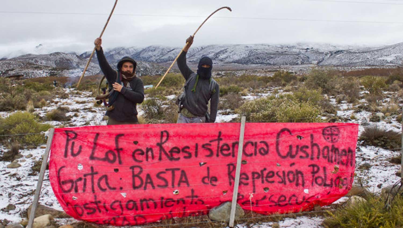 La Rural denunció al grupo Resistencia Mapuche como delictivo y violento