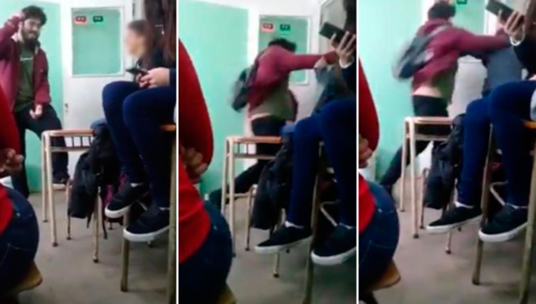 Un joven le pegó a otro tras una pelea por política