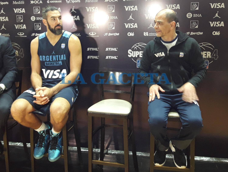 Con Scola, Argentina está lista para la Americup