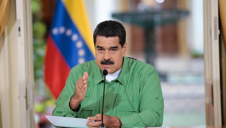 Maduro arremetió contra Macri y lo trató de cobarde