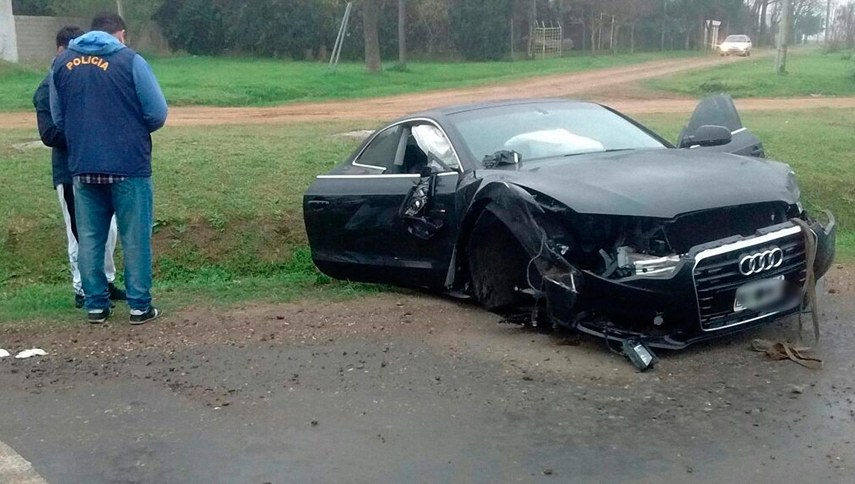 El hermano de Messi sufrió un accidente automovilístico en la ruta 21