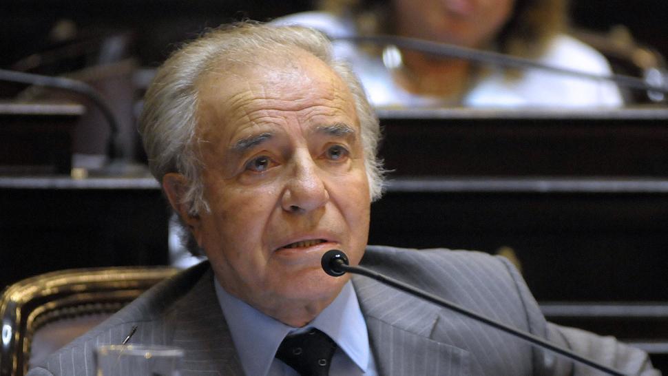 La Justicia habilitó la candidatura de Menem