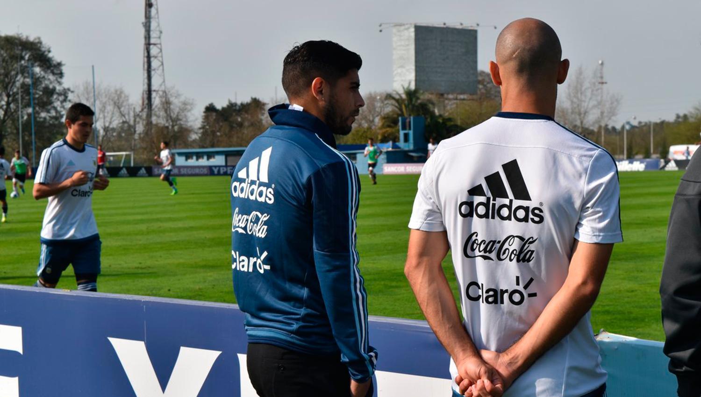 Eliminatorias: Mascherano, Banega y Acosta asoman como titulares para recibir a Venezuela