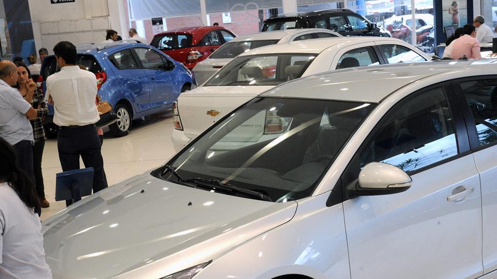 El patentamiento de autos creció un 4,8 % en agosto