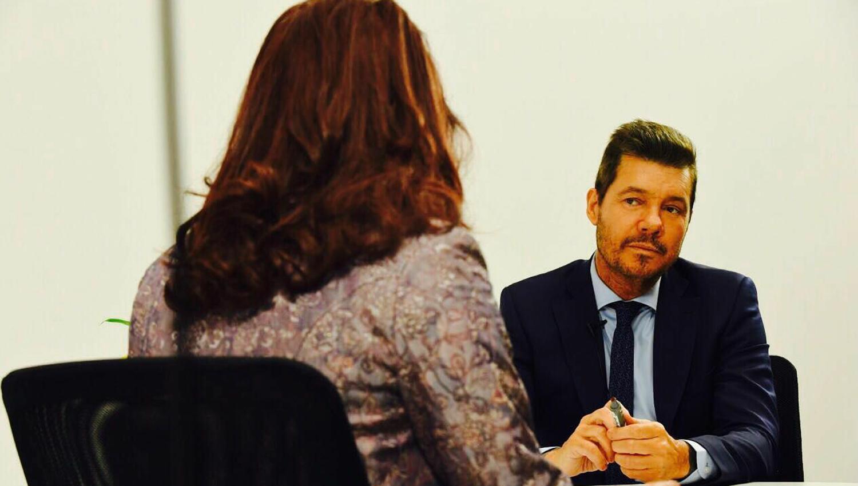 Martín Bossi adelantó detalles de la entrevista de Tinelli a Cristina