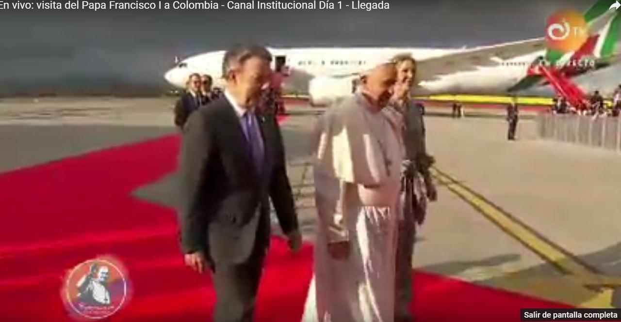 Papa Francisco en Colombia: Las mejores imágenes de una histórica visita