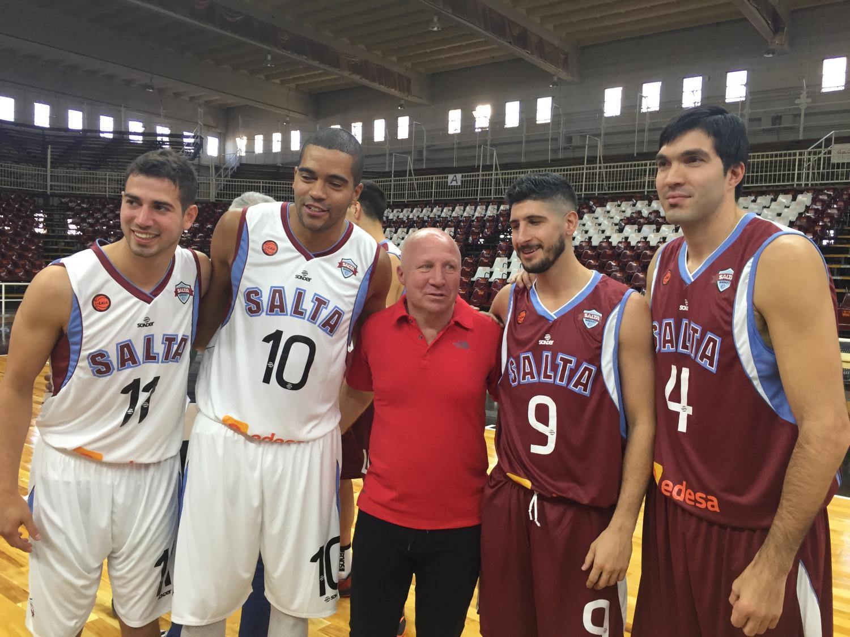 Previo al debut, Salta Basket se muestra en sociedad
