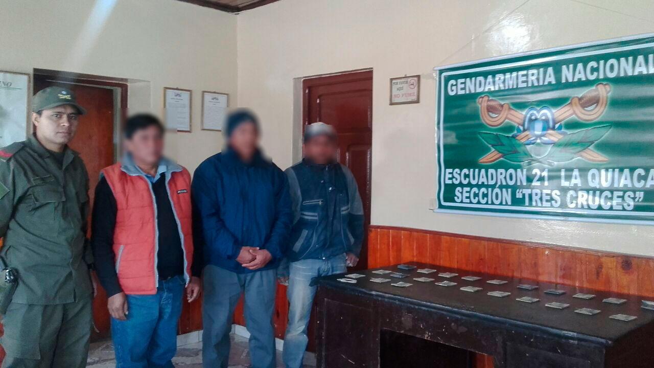 Secuestraron 50 kilos de cocaína en Jujuy