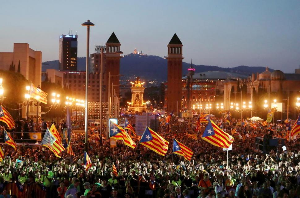 Ya son 465 los heridos por los incidentes en Cataluña