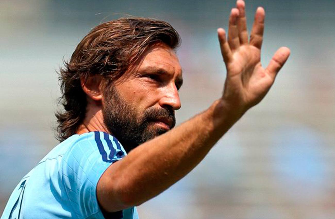 Andrea Pirlo dirá adiós al fútbol este diciembre