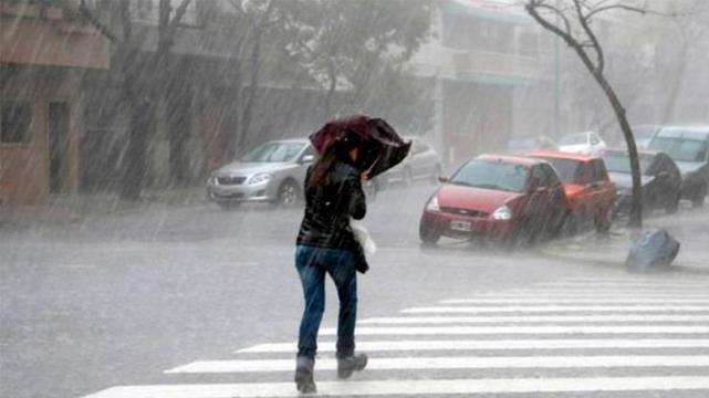 Alerta por precipitaciones abundantes en Mendoza