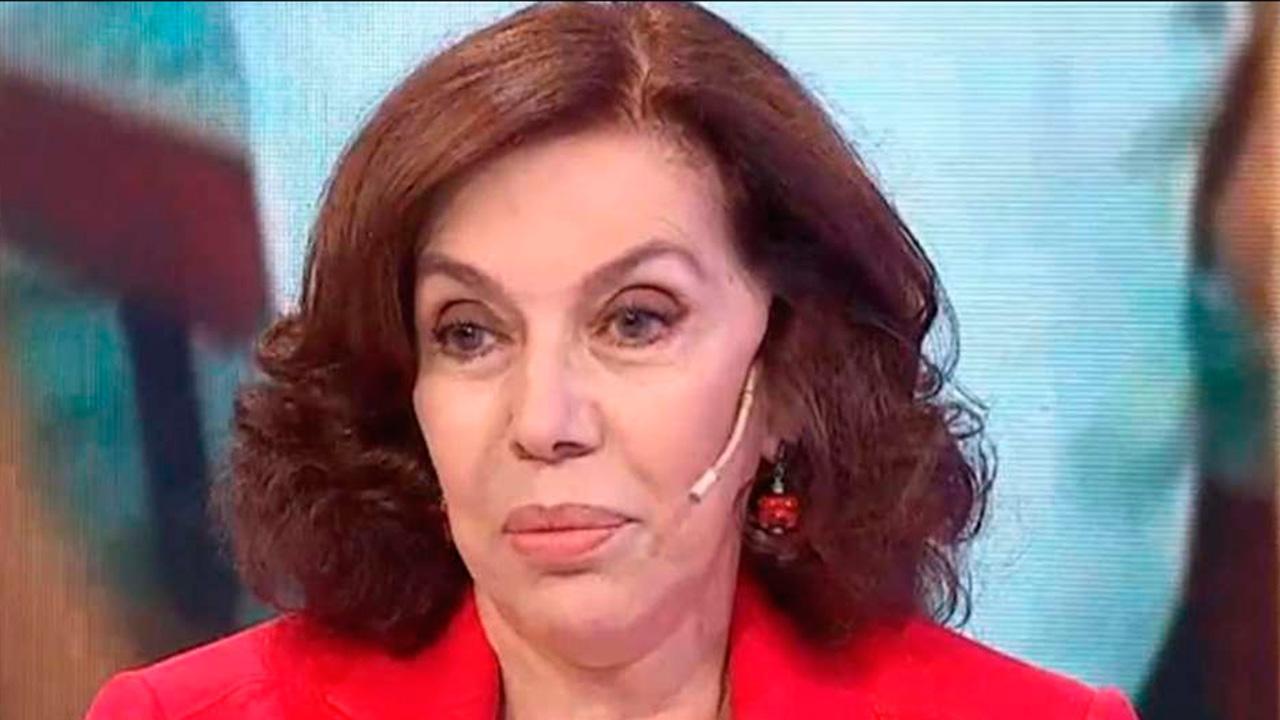 El dolor de Nora Carpena por su marido