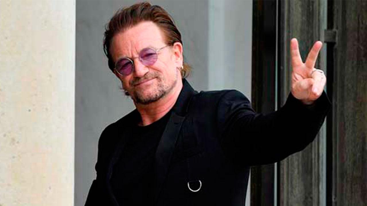 El líder de U2 le envió una carta a la familia Maldonado