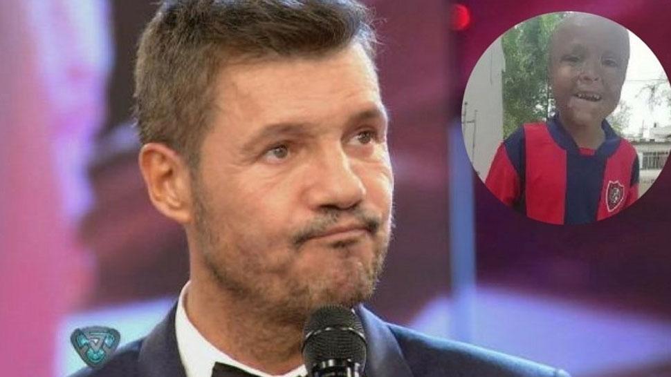 Maxi cumplirá su deseo de conocer a Marcelo Tinelli