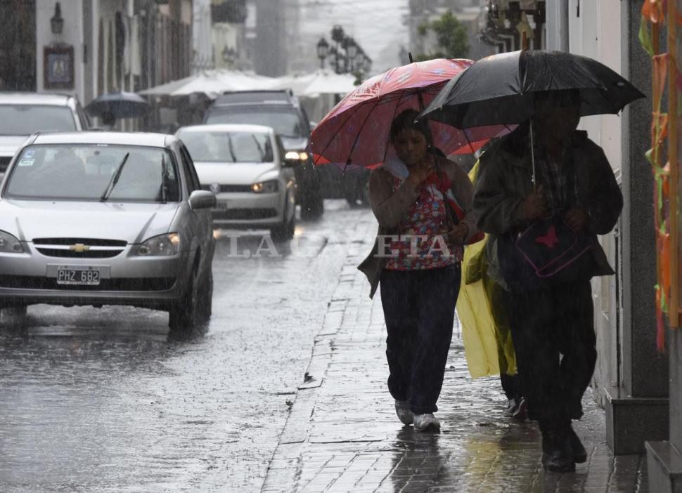 Rige un alerta meteorológico para el Chaco por tormentas
