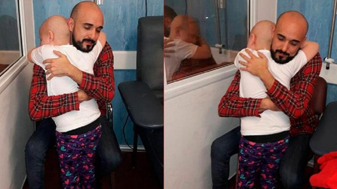 La dolorosa despedida de Abel Pintos a una nena que falleció