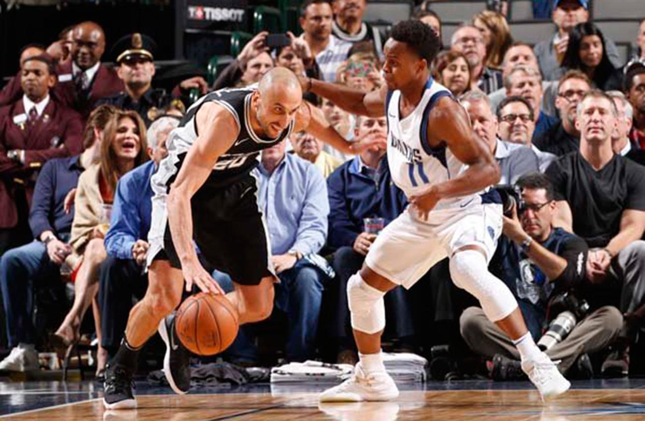 Spurs venció y Mavericks sufrió su derrota 13 en la NBA