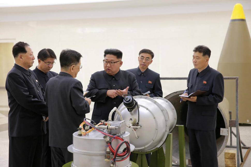Donald Trump no aceptará 'chantaje nuclear' de Norcorea