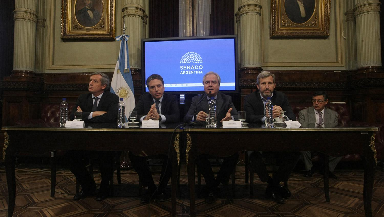 Gobernadores pidieron a sus senadores que aprueben la reforma fiscal y previsional