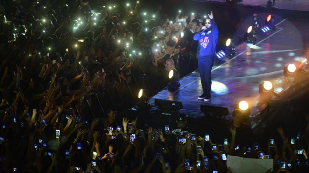 Maluma compartió imágenes de sus días en Argentina