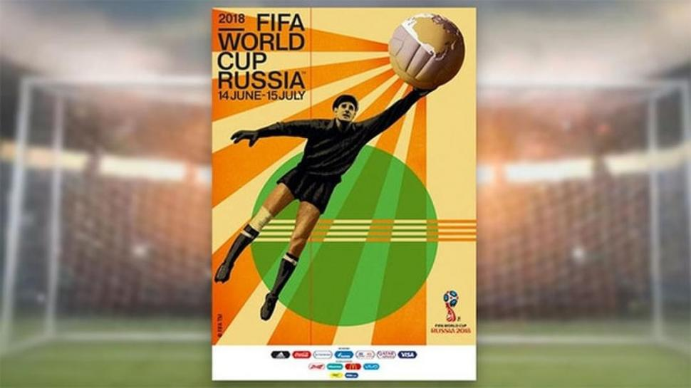 Presentaron el póster oficial del mundial Rusia 2018