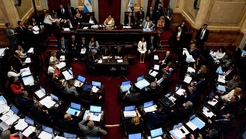 Reforma previsional y pacto fiscal, con media sanción en Senado