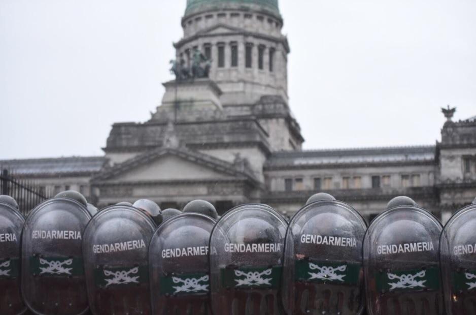 Comenzaron las protestas contra la reforma previsional