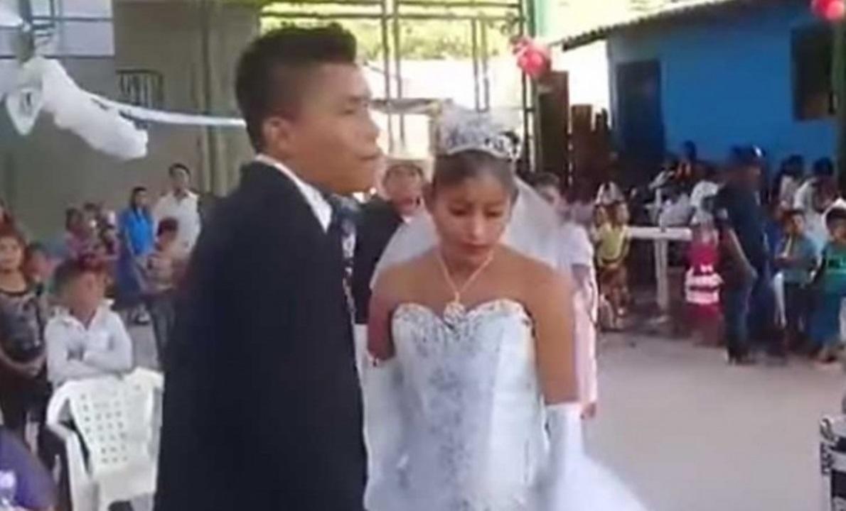 Mexicanos protagonizan 'la boda más triste del mundo'