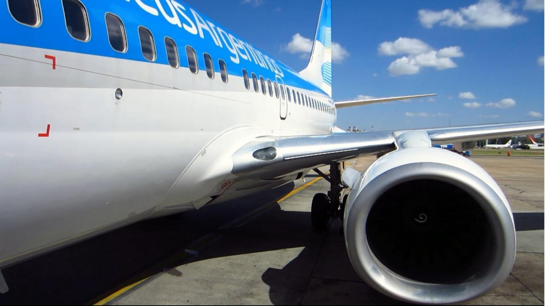 Ante el paro de la CGT, Aerolíneas Argentinas adelantó dos vuelos internacionales