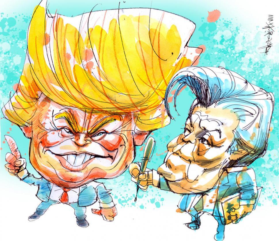 Bannon trata de enmendar la situación con los Trump