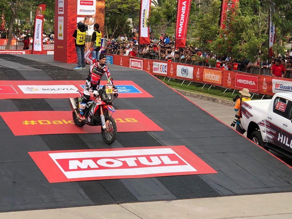 Dakar 6ta etapa: el salteño Kevin Benavides lidera la general en motos