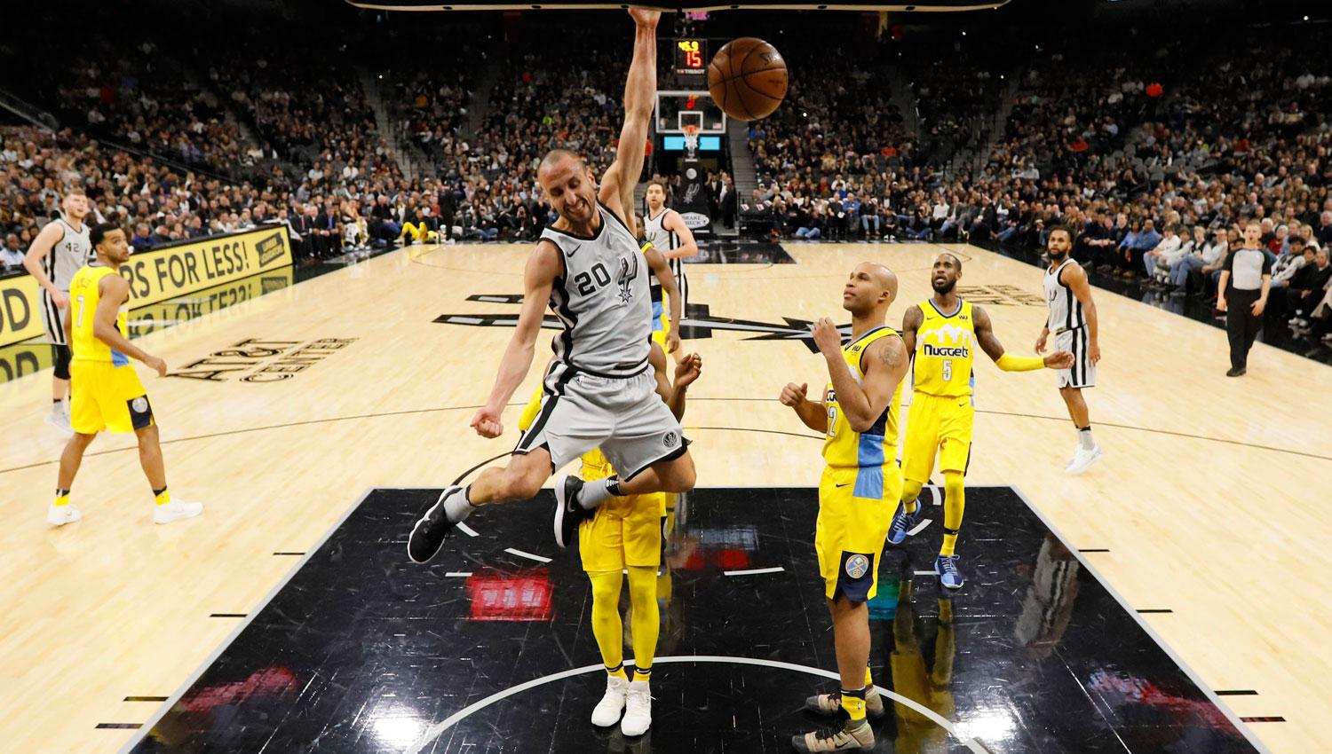 Messi quiere llevar a Ginobili al All-Star de la NBA