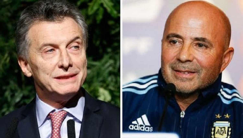 Cumbre Mundial: Mauricio Macri se reunió con Jorge Sampaoli