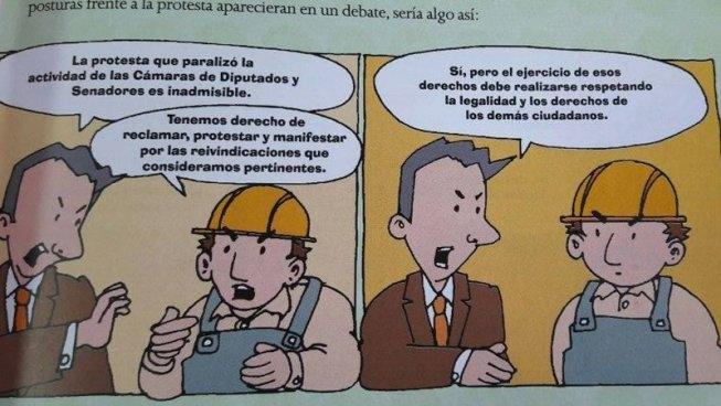 El manual educativo que reivindica al gobierno de Macri