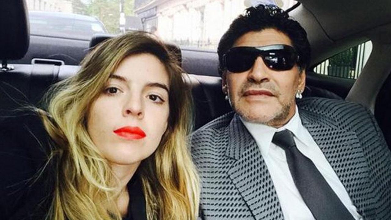 Sí, quiere: Dalma confirmó que Diego Maradona estará en su boda