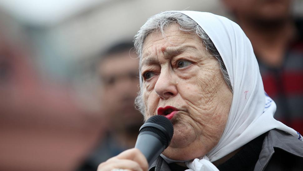 Bonafini convocó a la marcha de Moyano