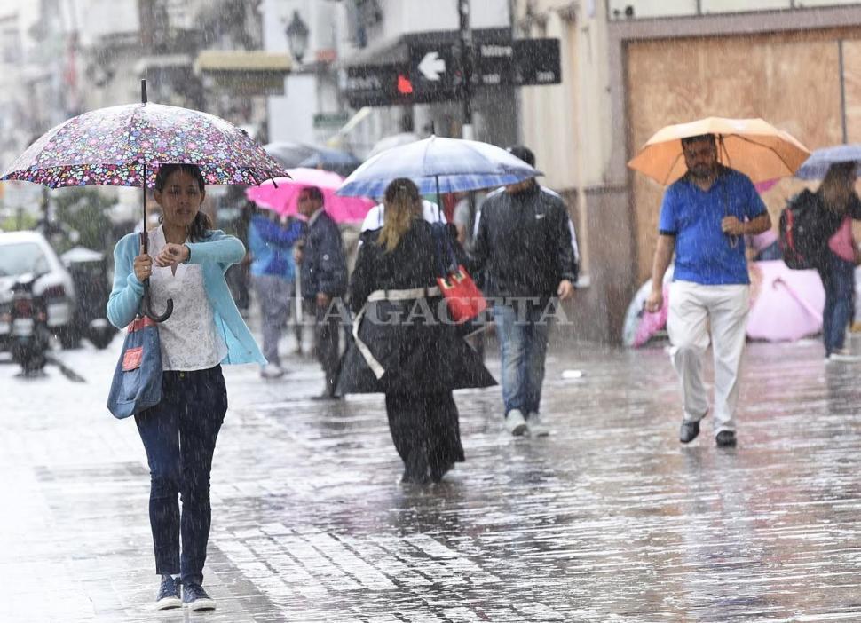 Sábado con probabilidades de lluvias en Salta