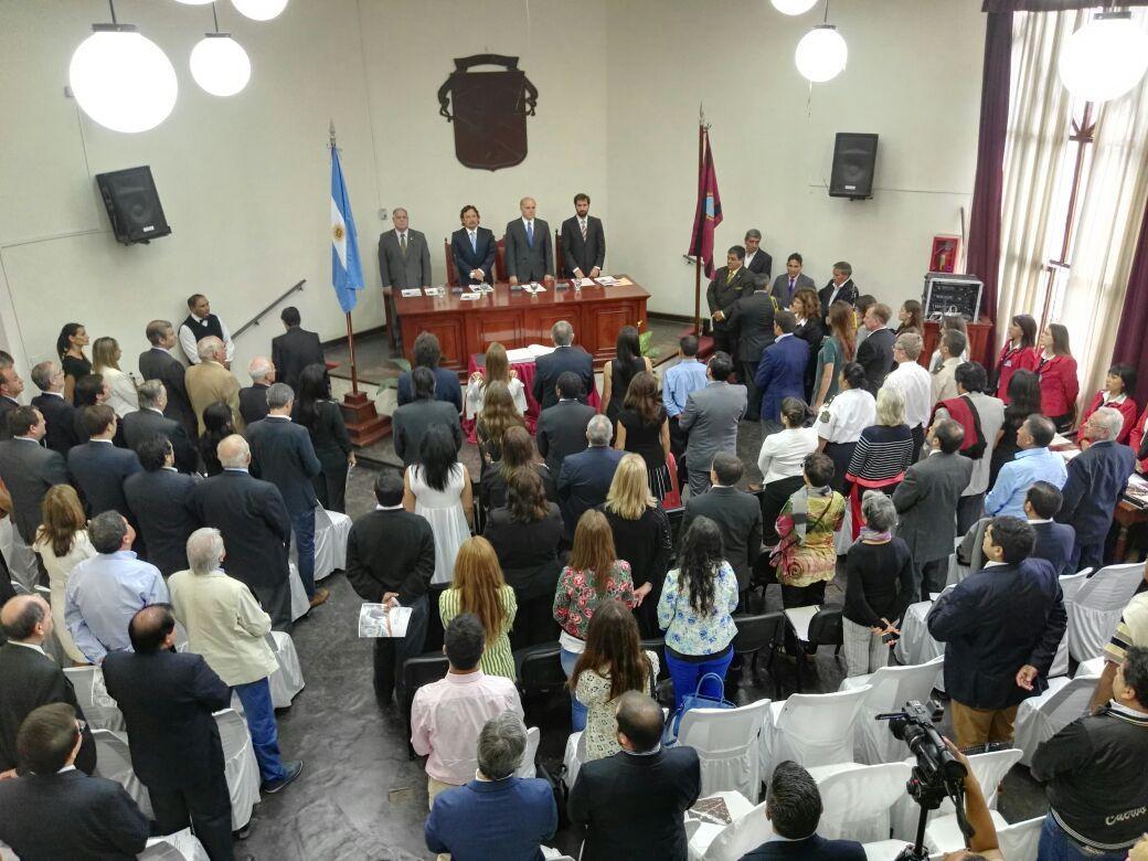 Sesión preparatoria — Concejo deliberante