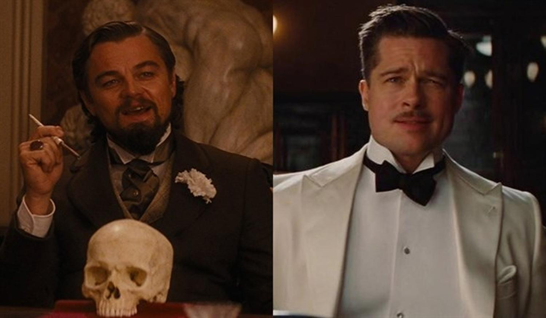 Brad Pitt, Leonardo Di Caprio y Tarantino — Power Trío