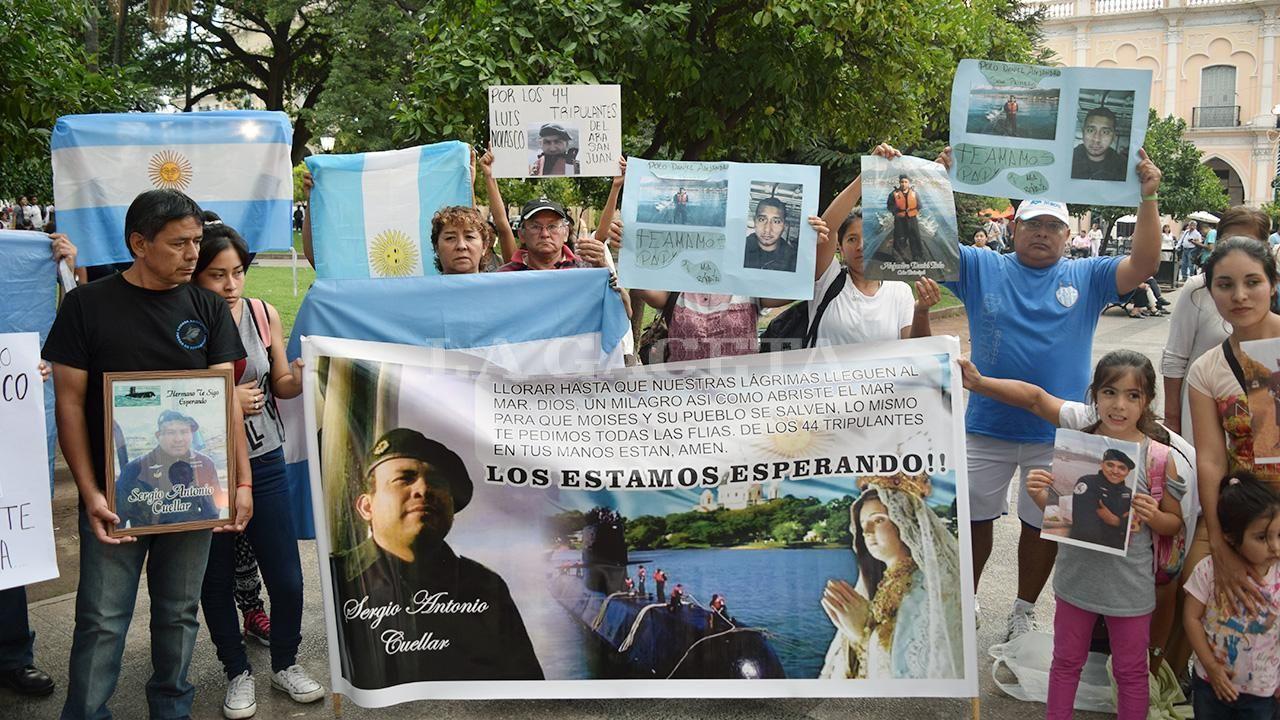 Los familiares cobrarán un irrisorio seguro de vida — ARA San Juan