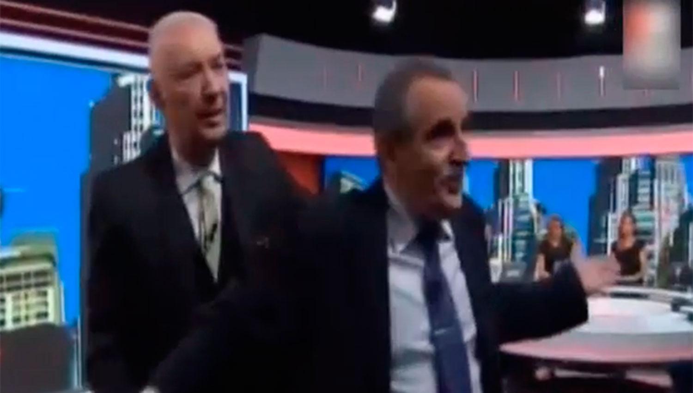 Guillermo Moreno agredió a Eduardo Feinmann y lo desafió a pelear