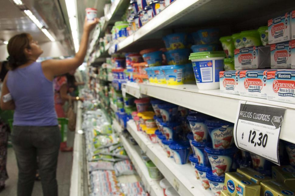 En los supermercados las ventas cayeron durante enero