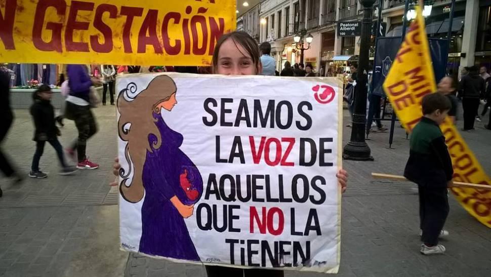 Hoy se realizará una marcha contra el aborto en Salta