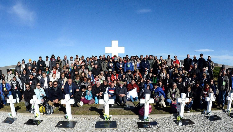 Macri recibe a familiares de caídos en la guerra de Malvinas
