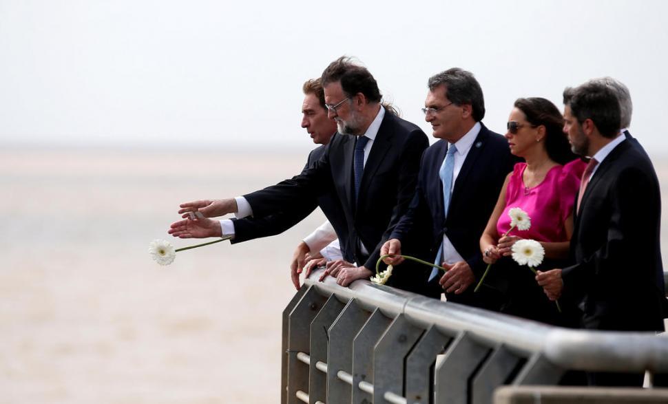 Antes de ver a Macri, Rajoy se fue a caminar por Palermo
