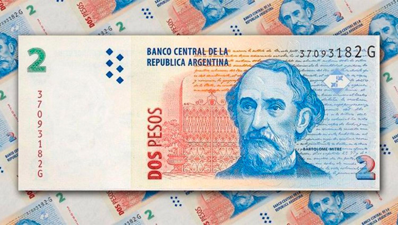 Extendieron el plazo para canjear los billetes de 2 pesos